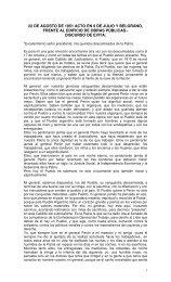 Renunciamiento de Evita (22-8-1951)