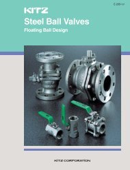 KITZ Steel Ball Valves