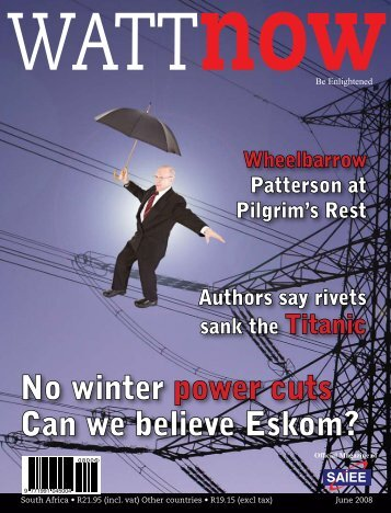 No winter power cuts Can we believe Eskom? - Watt Now Magazine