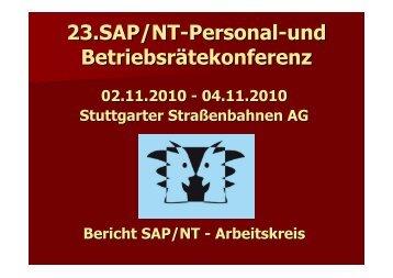 Bericht des Arbeitskreises - Br-arbeitskreis-sapnt.de