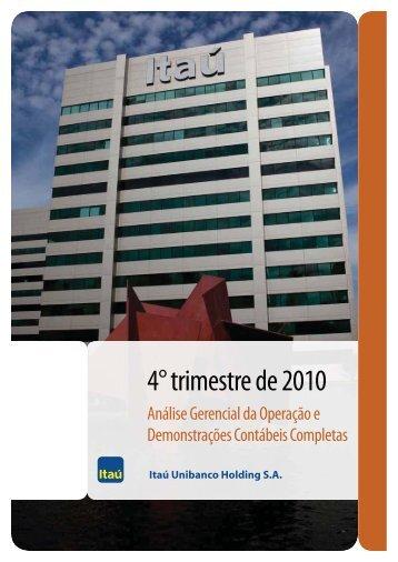 IRR311210.pdf - Relações com Investidores - Banco Itaú