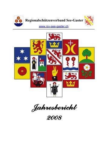 Jahresbericht 2008 - RSV See-Gaster