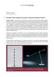 Press Release (pdf, 37.49KB) - Zumtobel Group