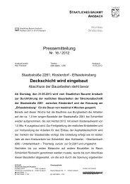 Klosterdorf - Elfseeleinsberg - Deckschicht wird eingebaut