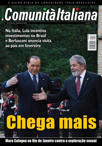 Na Itália, Lula incentiva investimentos no Brasil ... - Comunità italiana