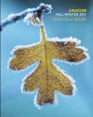 AMACOM Fall-Winter 2011 Catalog of Books - McGraw-Hill Books