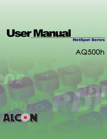 to download the AQ500H User Manual - CA WORLD WIFI, INC
