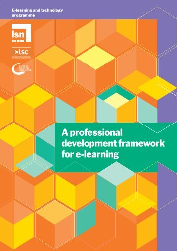 A professional development framework for e-learning - Niace