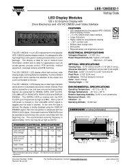LEE-128G032-1 LED Display Modules