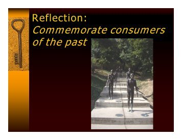 Janet Meagher - Consumer Reflection