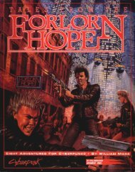 Cyberpunk 2020 - Tales From The Forlorn Hope