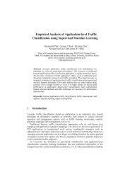 Empirical Analysis of Application-level Traffic Classification using ...