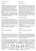 Polkupyörän käyttöopas Bruksanvisning för cykel Bicycle ... - Helkama - Seite 6