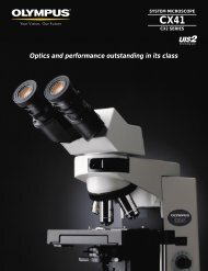 Optics and performance outstanding in its class - GX Optical
