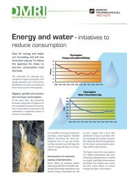 Energy and water - initiatives to - Danish Technological Institute