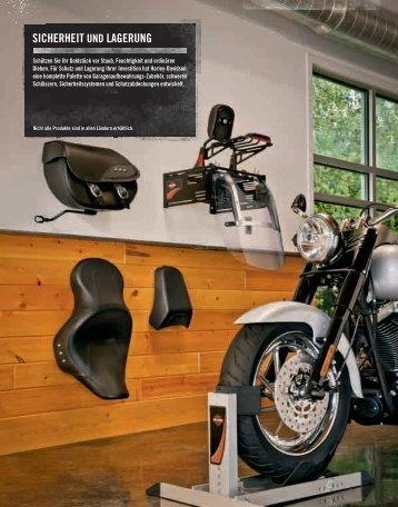 sicherheit und lagerung - Harley-Davidson Tuttlingen - Motorrad ...
