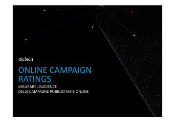 Nielsen Online Campaign Ratings (pdf) - Prima Comunicazione