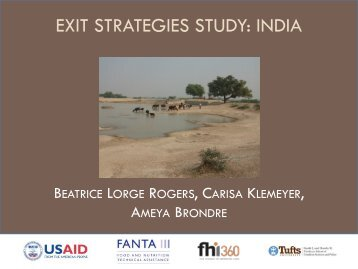 Exit Strategies-India - FSN Network Portal