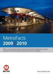 MetroFacts annual statistics report 2009-10 (pdf, 2mb - opens in a ...