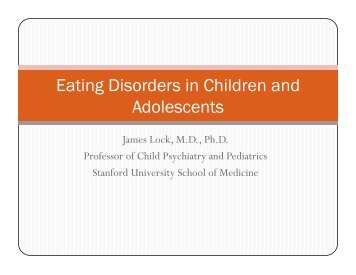 Eating Disorders in Children and Adolescents - Maudsley Parents