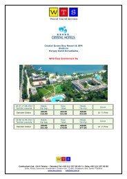 Crystal Green Bay Resort fiyat listesi için tıklayınız