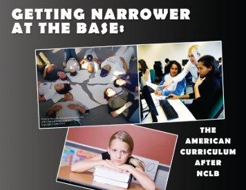 Getting Narrower at the Base - Circle