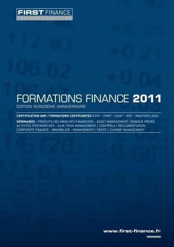 FIRST FINANCE » (pdf)