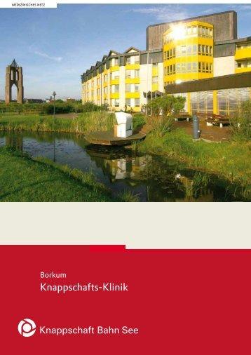 Borkum - Knappschafts-Klinik (PDF/325 KB) - Knappschaft-Bahn-See