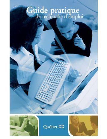 Guide pratique de recherche d'emploi.pdf - Emploi-Québec