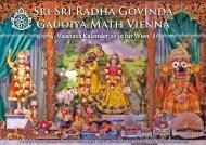 Sri Sri Radha Govinda Gaudiya Math Vienna