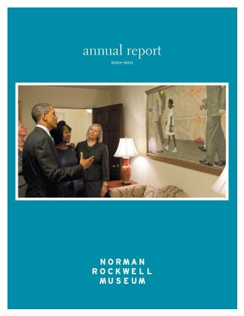 download the 2010-2011 annual report - Norman Rockwell Museum