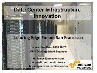 High Scale Data Center Infrastructure - MV Dirona