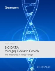 BIG DATA: Managing Explosive Growth - Bio-IT World