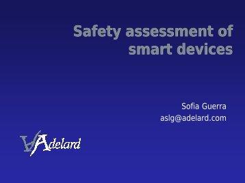 Safety assessment of smart devices - Adelard