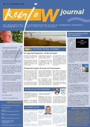 Nr. 11 / Oktober 2008 - Regio W
