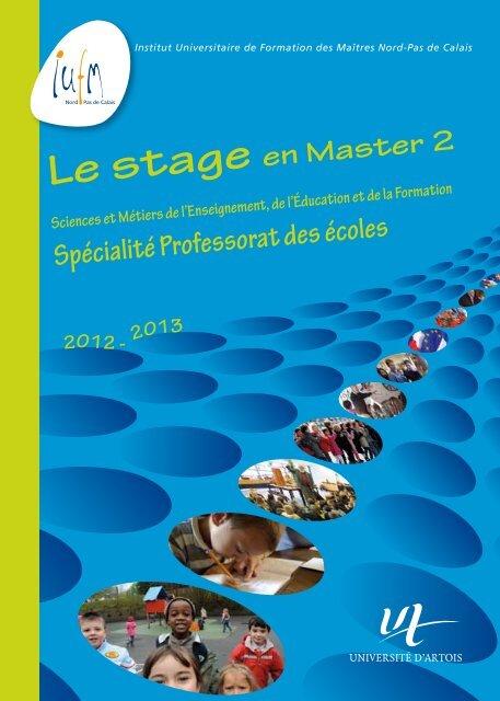Le stage en Master 2 SMEEF PE - IUFM