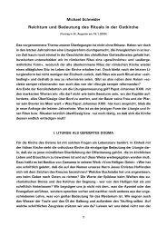 Reichtum und Bedeutung des Rituals in der Ostkirche - Kath.de