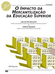 o impacto da mercantilização da educação superior - Adusp