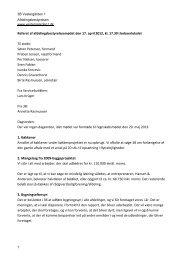 17. april 2013, referat - Vestergaarden1