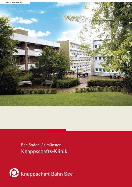 Knappschafts-Klinik Bad Soden-Salmünster - Knappschaft ...