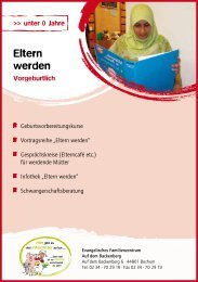 Angebot für alle Altergruppen - Evangelische Kirchengemeinde ...