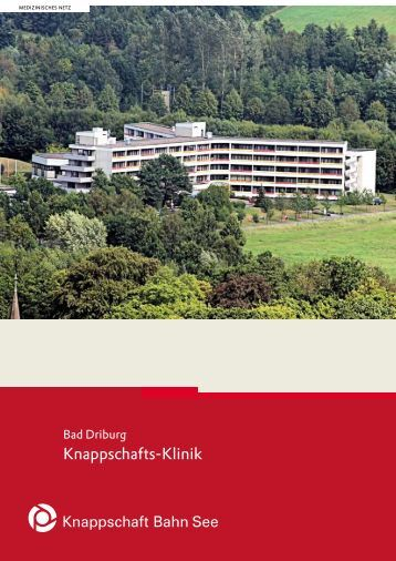Knappschafts-Klinik Bad Driburg - Knappschaft-Bahn-See