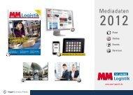 MM Logistik Mediadaten 2012