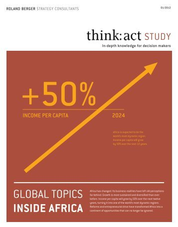"think: act STUDY ""Inside Africa"" - Roland Berger"