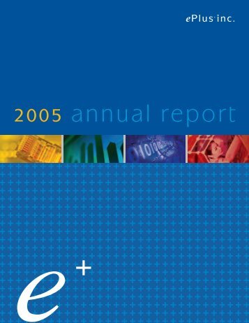 2005 annual report - ePlus
