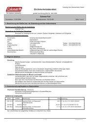 EG-Sicherheitsdatenblatt - Wendisch-PS