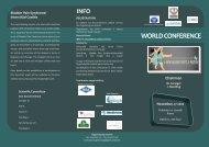 See programme leaflet... - International Painful Bladder Foundation