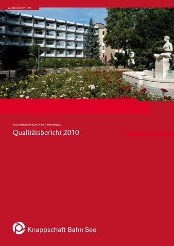 Qualitätsbericht 2010 - Knappschaft-Bahn-See