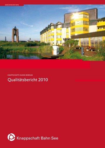 Qualitätsbericht 2010 (PDF/723 KB) - Knappschaft-Bahn-See