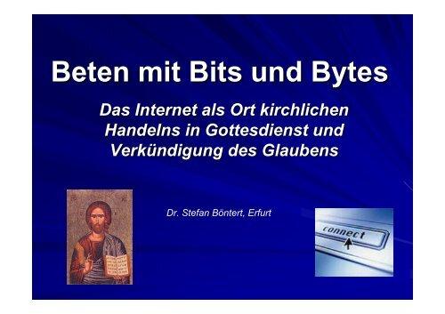 Konkrete Internetgottesdienste - Kath.de